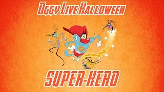 Download Oggy and the Cockroaches - Live Halloween Compilation #Super-Hero Video