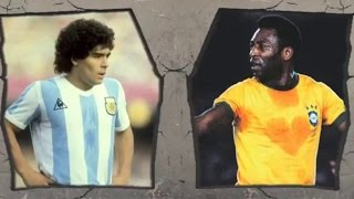 Download Pele VS Maradona-Legendary Tricks and Skills! Video