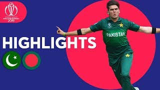 Download Shaheen Gets CWC Record Figures! | Pakistan vs Bangladesh - Highlights | ICC Cricket World Cup 2019 Video