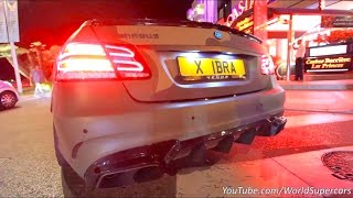 Download Brabus E850 w/Decat Exhaust Start, Revving and Acceleration Sound! Video