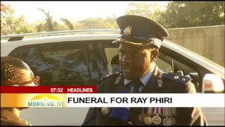 Download UPDATE: Funeral procession leaves the home of ray Phiri Video