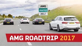 Download AMG Roadtrip 2017 Part 1 - The 2182BHP Convoy!! Video