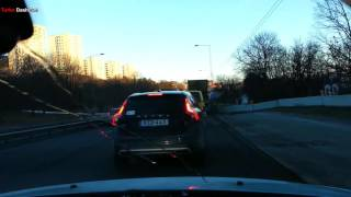Download Turbo Dashcam #4 - Selfish morons in Stockholm (re-upload) Video