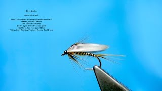 Download Tying an Olive Quill (Wet Fly) with Davie McPhail Video