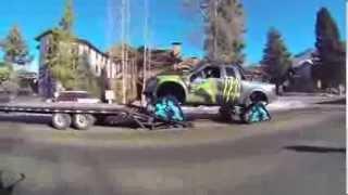 Download Ken Block's Hooigan Going up the slopes in Aspen Video