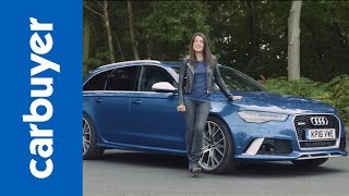 Download Audi RS6 Avant review - Carbuyer Video