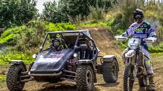Download Graham Jarvis vs The Stig || Rage Buggy fitted with || Yamaha R1 Engine Video