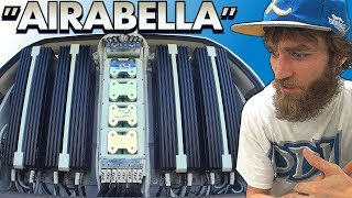 Download ″AIRABELLA″ on BLAST w/ Sundown 18″ SUBWOOFERS & Extremely LARGE Car Audio Bass Amplifier Install Video