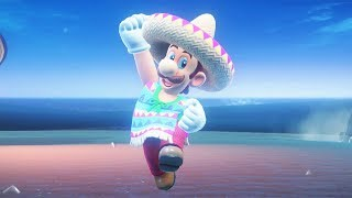 Download Super Luigi Odyssey Walkthrough Part 2 - Sand Kingdom + The Inverted Pyramid Video