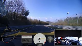 Download 7 minutes 12.7 seconds at the Nürburgring - Onboard footage of the 911 GT3 Video