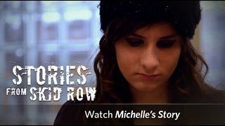 Download Homeless Teenagers Living On LA's Skid Row   Union Rescue Mission Video