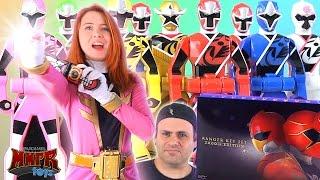 Download Gokaiger Ranger Key Set 2000th Edition Review! (Power Rangers Ninja Steel) Video