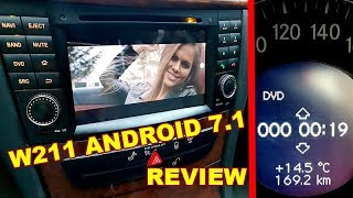 Download Mercedes W211,C219 Android 7.1 DVD Radio (COMAND AUDIO) GPS Navigation Full Review and Sound Test Video