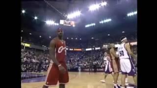 Download 【圧倒的な天才】18歳レブロン ジェームス NBAデビュー戦 Video