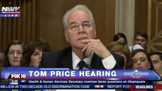 Download HEATED: Bernie Sanders TAKES ON Tom Price at Hearing - Is Healthcare a Right for ALL Americans? -FNN Video