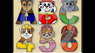 Download Paw Patrol- 1, 2, 3. LEARN Pups Figures - Numbers Counting -Toddler Nickelodeon Jr Video! Video