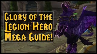 Download Glory of the Legion Hero MEGA GUIDE! Video