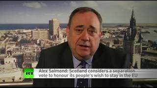 Download Scotland already preparing for new independence vote - Alex Salmond (RT EXCLUSIVE) Video