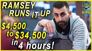 Download Ramsey Runs It Up! ♠ Live at the Bike! Video