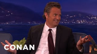 Download Matthew Perry's Porn Watching Disaster - CONAN on TBS Video