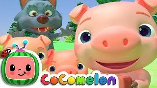 Download Three Little Pigs | Nursery Rhymes & Kids Songs - ABCkidTV Video