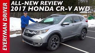 Download Drive and Review: 2017 Honda CR-V AWD on Everyman Driver Video