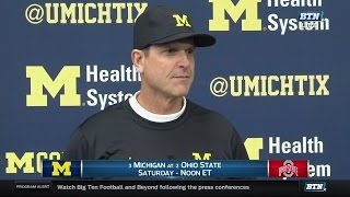 Download Jim Harbaugh Ohio State Week Press Conference Video