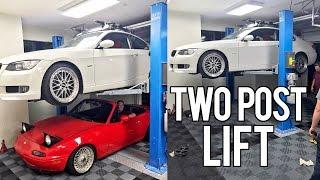 Download Dream Garage 2 Post Lift Install Video