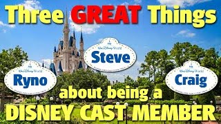Download Three GREAT Things about being a Disney Cast Member | DIS Unplugged Minisode Video