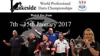 Download LAKESIDE WORLD DARTS CHAMPIONSHIPS 2017 - Tuesday 10th Jan Session 1 Video