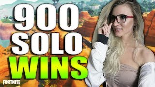 Download ROAD TO 1000 SOLO WINS! 902 SOLO WINS. 14000+ KILLS. FORTNITE BATTLE ROYALE LIVE! Video