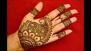 Download Easy Arabic Mehndi Henna Designs For Hands|Simple Arabic Mehndi Designs Step by Step Video