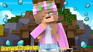 Download 100 DIAMONDS CHALLENGE!   Minecraft Little Kelly Video