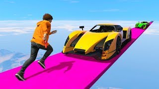 Download I JUMPED OVER A MOVING SUPERCAR Video