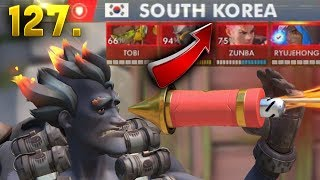 Download Korean Junkrat in World Cup!! | OVERWATCH Daily Moments Ep. 127 (Funny and Random Moments) Video