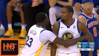 Download Kevin Durant Ejected From Game / GS Warriors vs Knicks Video