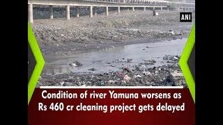 Download Condition of river Yamuna worsens as Rs 460 cr cleaning project gets delayed - #ANI News Video