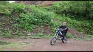 Download Tricker Yamaha XG250 Hoa Binh province Vietnam Video