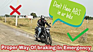 Download Emergency Braking Tricks | U Dont need an ABS Video