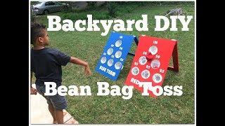 Download How to Make a DIY Bean Bag Toss Game - Outdoor Game Ideas - Thrift Diving Video