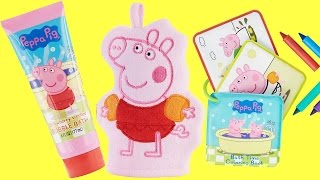 Download Peppa Pig Bubble Bath Soap, Mitt & Crayons | Toys Unlimited Video
