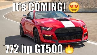 Download The 2019 Ford Mustang Shelby GT500! 772hp. This What FORD Wont Tell You! Video