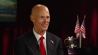 Download Michael Cole interviews Governor Rick Scott Video