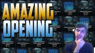 Download SNOWDOWN 2016 CRAFTING - Poro King Treasure Chest OPENING! Winter chests | League of Legends LoL Video