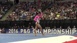 Download Margzetta Frazier- Floor Exercise - 2016 P&G Gymnastics Championships – Sr. Women Day 2 Video