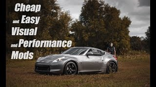 Download Top 5 Best Budget Mods For Your Nissan 370z/350z | Best Cheap Car Mods For Under $400! Video