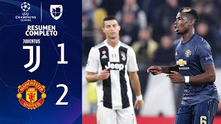 Download Juventus 1-2 Manchester United - GOLES Y RESUMEN EXTENDIDO - UEFA Champions League Video