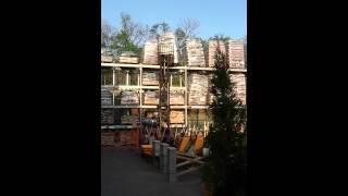 Download Home Depot forklift fail Video