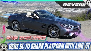 Download 2019 Mercedes Benz SL to share platform with AMG GT- Cars For Life. Video