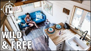 Download Stunning TINY HOUSE for a Vivacious Retired Cop Seeking Life on the Road Video